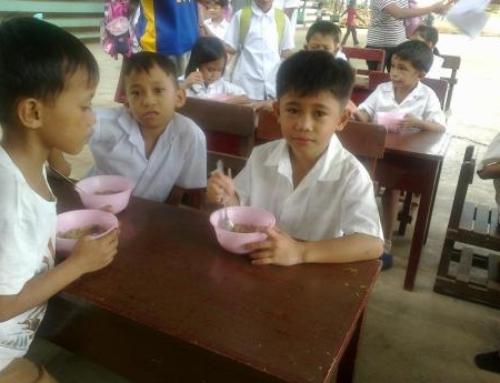 Sustainable Lunch Program Launches in the Philippines